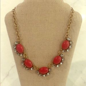 Stella & Dot Mae red necklace